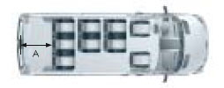Микроавтобус Мерседес Бенц Спринтер, три ряда кресел
